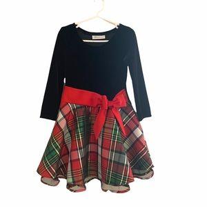 Stunning Girls 5/6 3/4 Sleeve Christmas Dress
